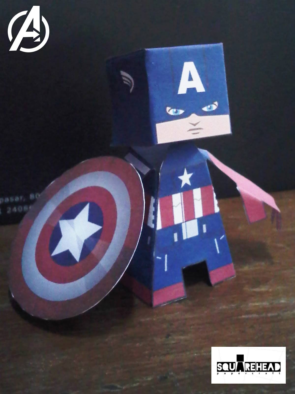 Papercraft: Captain America : The Avengers Movie Version Papercraft